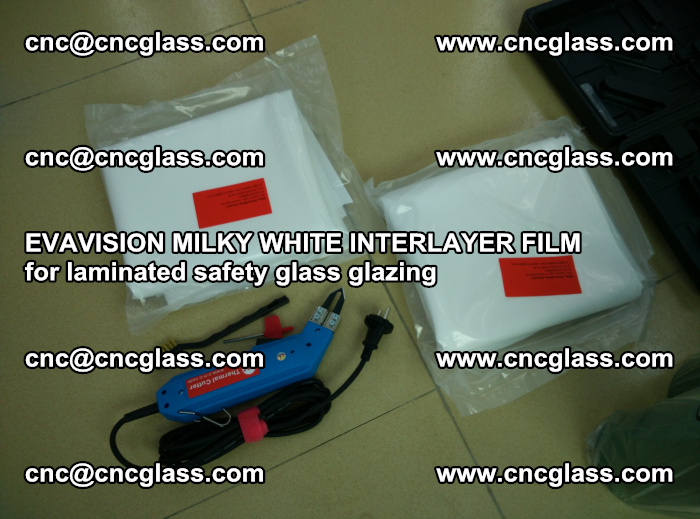 EVAVISION MILKY WHITE INTERLAYER FILM for laminated safety glass glazing (33)