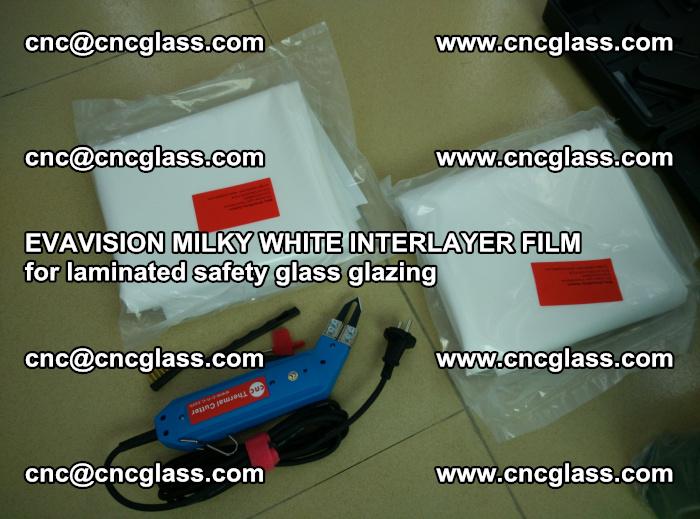EVAVISION MILKY WHITE INTERLAYER FILM for laminated safety glass glazing (36)