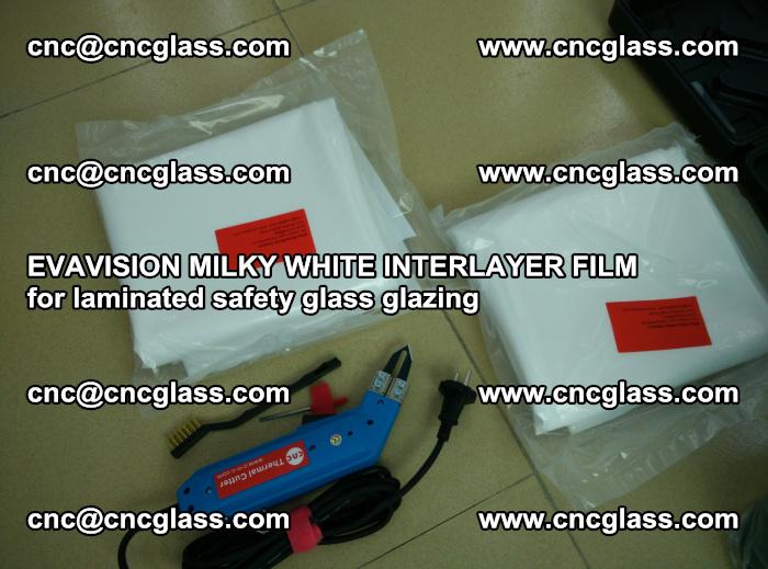 EVAVISION MILKY WHITE INTERLAYER FILM for laminated safety glass glazing (37)