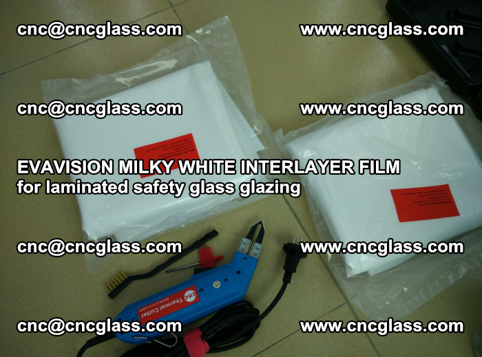 EVAVISION MILKY WHITE INTERLAYER FILM for laminated safety glass glazing (38)
