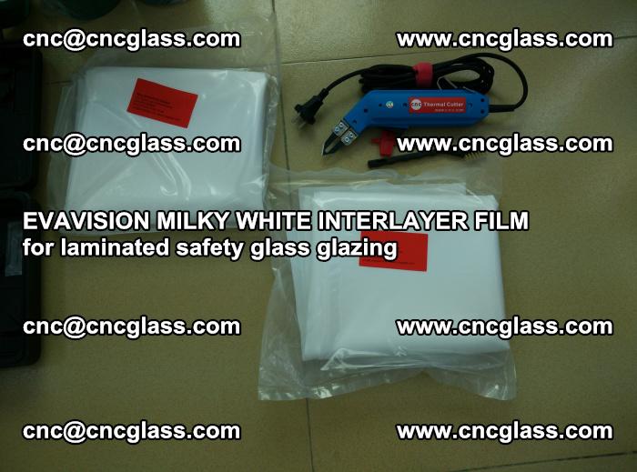 EVAVISION MILKY WHITE INTERLAYER FILM for laminated safety glass glazing (4)