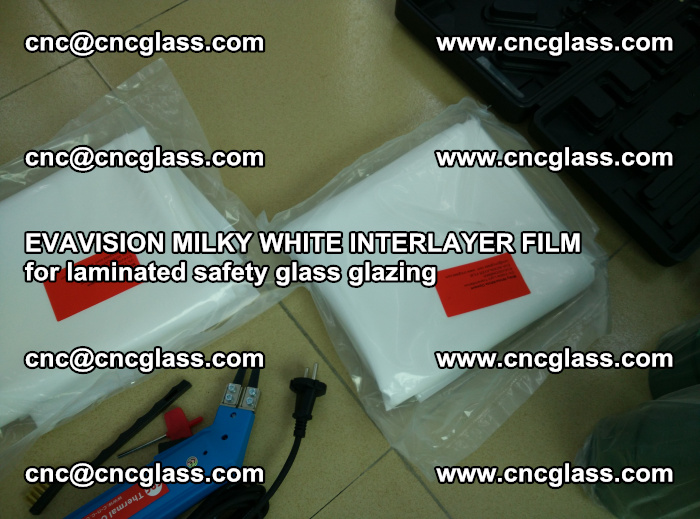 EVAVISION MILKY WHITE INTERLAYER FILM for laminated safety glass glazing (41)