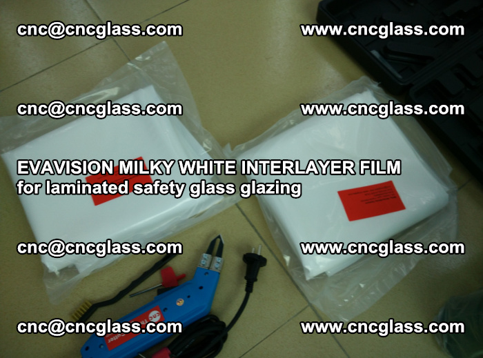 EVAVISION MILKY WHITE INTERLAYER FILM for laminated safety glass glazing (43)