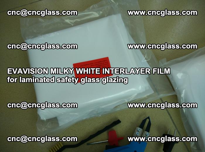 EVAVISION MILKY WHITE INTERLAYER FILM for laminated safety glass glazing (44)