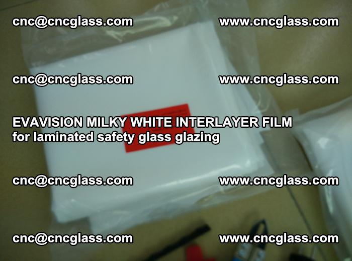 EVAVISION MILKY WHITE INTERLAYER FILM for laminated safety glass glazing (45)