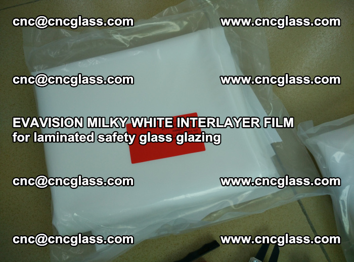 EVAVISION MILKY WHITE INTERLAYER FILM for laminated safety glass glazing (46)