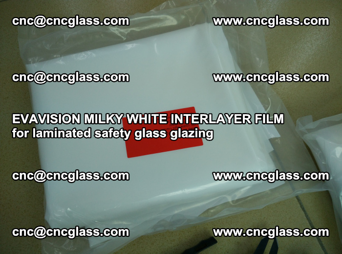EVAVISION MILKY WHITE INTERLAYER FILM for laminated safety glass glazing (47)