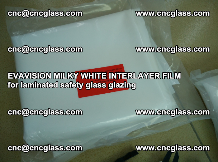 EVAVISION MILKY WHITE INTERLAYER FILM for laminated safety glass glazing (48)