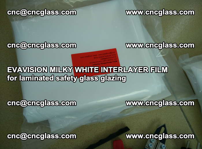 EVAVISION MILKY WHITE INTERLAYER FILM for laminated safety glass glazing (49)