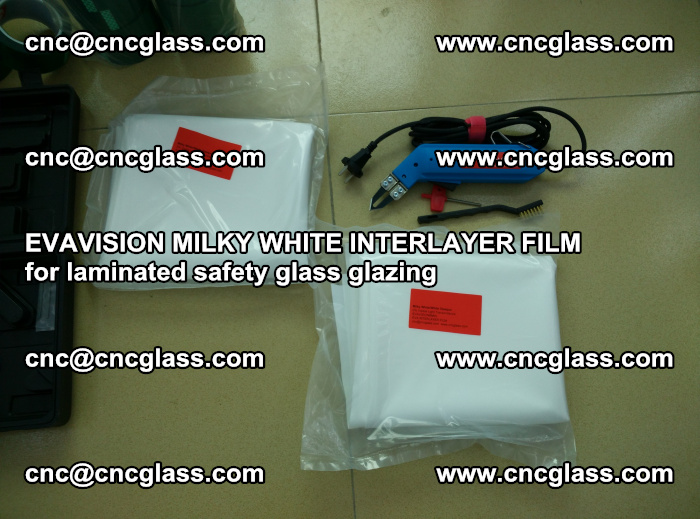 EVAVISION MILKY WHITE INTERLAYER FILM for laminated safety glass glazing (5)