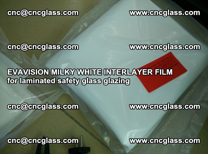 EVAVISION MILKY WHITE INTERLAYER FILM for laminated safety glass glazing (53)