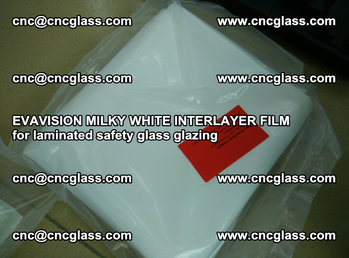 EVAVISION MILKY WHITE INTERLAYER FILM for laminated safety glass glazing (56)