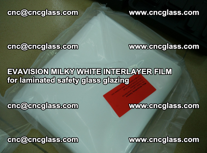 EVAVISION MILKY WHITE INTERLAYER FILM for laminated safety glass glazing (57)