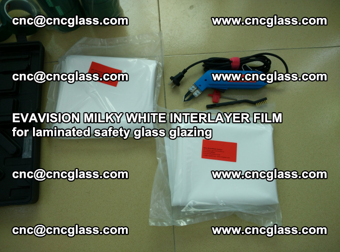 EVAVISION MILKY WHITE INTERLAYER FILM for laminated safety glass glazing (6)