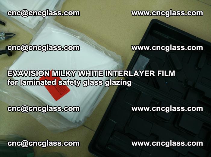 EVAVISION MILKY WHITE INTERLAYER FILM for laminated safety glass glazing (62)