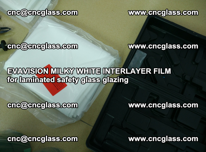 EVAVISION MILKY WHITE INTERLAYER FILM for laminated safety glass glazing (63)