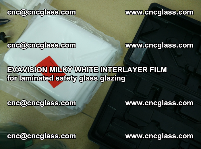 EVAVISION MILKY WHITE INTERLAYER FILM for laminated safety glass glazing (64)