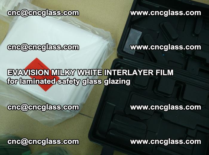 EVAVISION MILKY WHITE INTERLAYER FILM for laminated safety glass glazing (66)