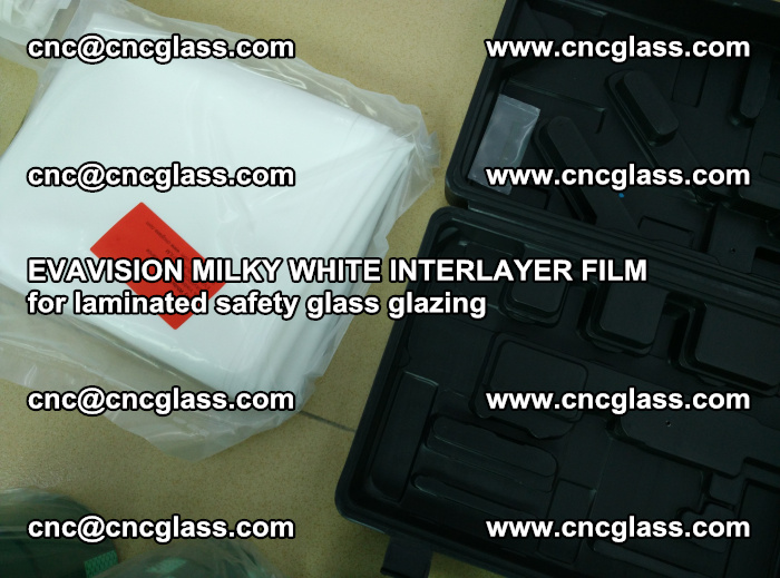 EVAVISION MILKY WHITE INTERLAYER FILM for laminated safety glass glazing (67)