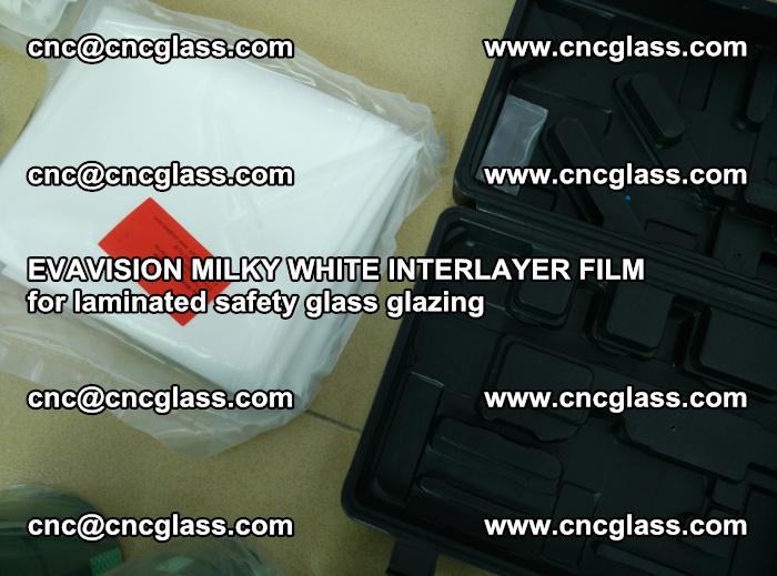 EVAVISION MILKY WHITE INTERLAYER FILM for laminated safety glass glazing (68)