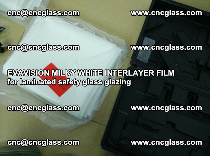 EVAVISION MILKY WHITE INTERLAYER FILM for laminated safety glass glazing (69)