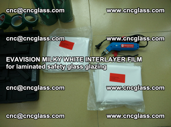 EVAVISION MILKY WHITE INTERLAYER FILM for laminated safety glass glazing (7)