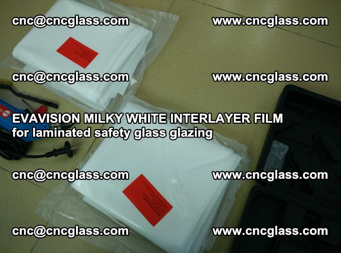 EVAVISION MILKY WHITE INTERLAYER FILM for laminated safety glass glazing (71)