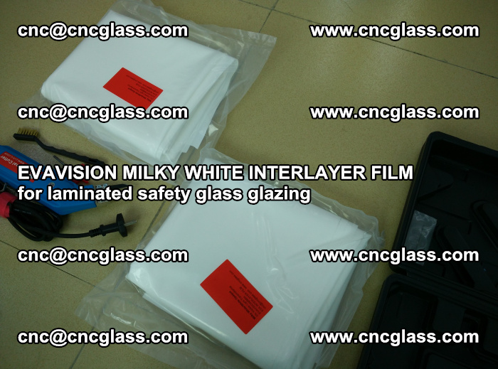 EVAVISION MILKY WHITE INTERLAYER FILM for laminated safety glass glazing (73)