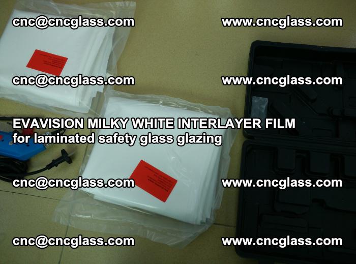 EVAVISION MILKY WHITE INTERLAYER FILM for laminated safety glass glazing (74)