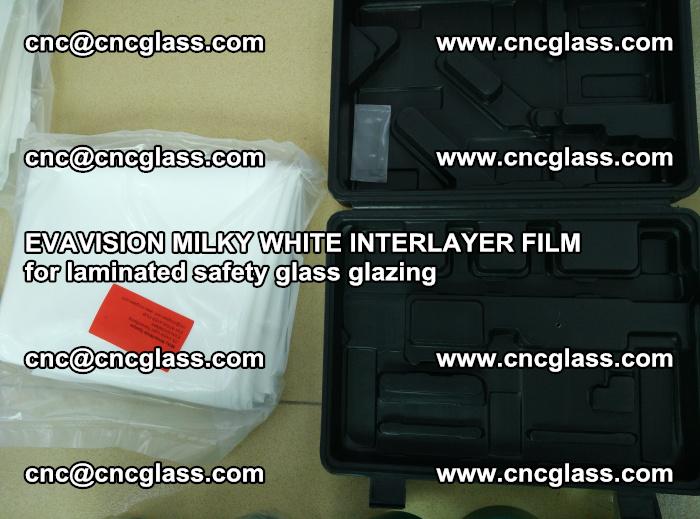 EVAVISION MILKY WHITE INTERLAYER FILM for laminated safety glass glazing (78)