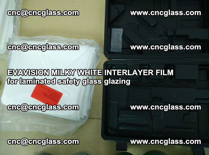 EVAVISION MILKY WHITE INTERLAYER FILM for laminated safety glass glazing (79)