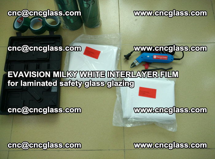 EVAVISION MILKY WHITE INTERLAYER FILM for laminated safety glass glazing (8)