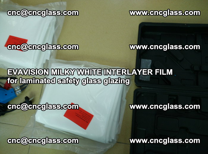 EVAVISION MILKY WHITE INTERLAYER FILM for laminated safety glass glazing (81)