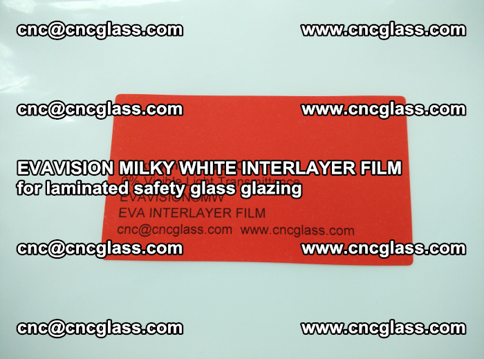 EVAVISION MILKY WHITE INTERLAYER FILM for laminated safety glass glazing (83)