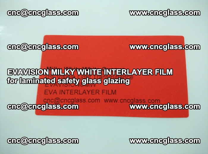 EVAVISION MILKY WHITE INTERLAYER FILM for laminated safety glass glazing (84)