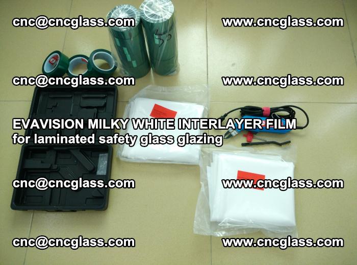 EVAVISION MILKY WHITE INTERLAYER FILM for laminated safety glass glazing (9)