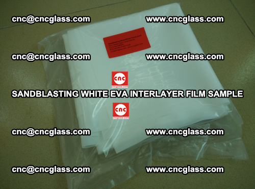 Sandblasting White EVA INTERLAYER FILM sample, EVAVISION (16)