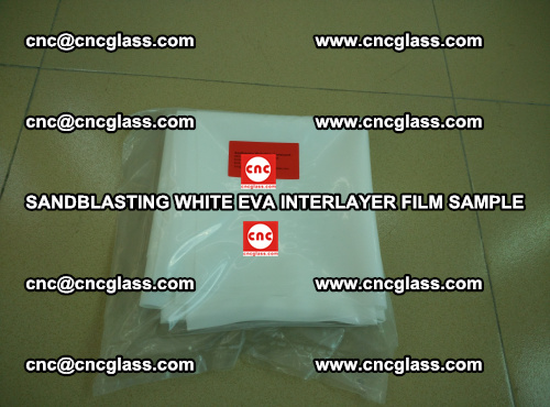Sandblasting White EVA INTERLAYER FILM sample, EVAVISION (22)