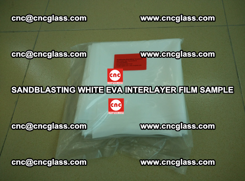 Sandblasting White EVA INTERLAYER FILM sample, EVAVISION (25)