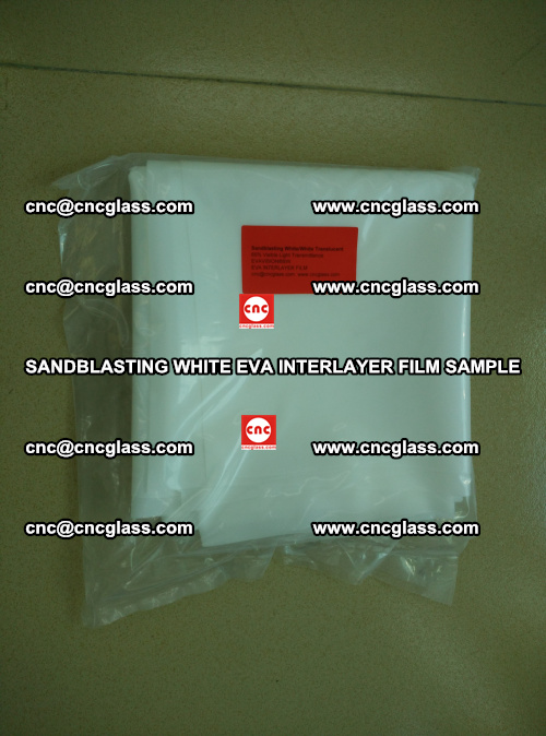 Sandblasting White EVA INTERLAYER FILM sample, EVAVISION (4)