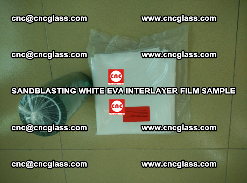 Sandblasting White EVA INTERLAYER FILM sample, EVAVISION (43)