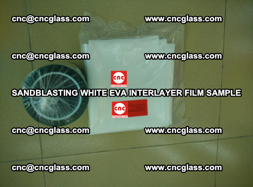 Sandblasting White EVA INTERLAYER FILM sample, EVAVISION (54)