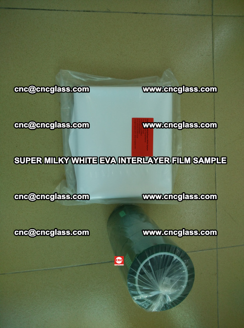 Super Milky White EVA FILM for safety glass, EVAVISION (1)