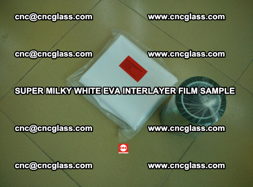 Super Milky White EVA FILM for safety glass, EVAVISION (10)