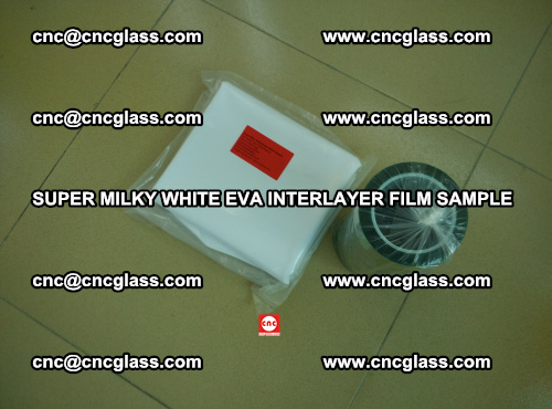 Super Milky White EVA FILM for safety glass, EVAVISION (11)