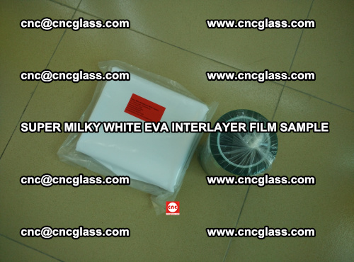 Super Milky White EVA FILM for safety glass, EVAVISION (12)