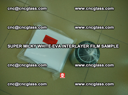 Super Milky White EVA FILM for safety glass, EVAVISION (13)