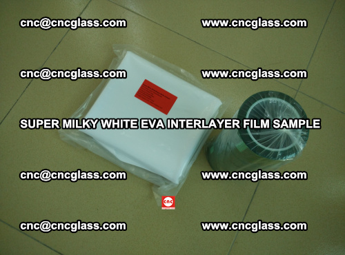 Super Milky White EVA FILM for safety glass, EVAVISION (15)