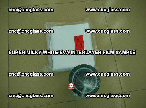 Super Milky White EVA FILM for safety glass, EVAVISION (17)