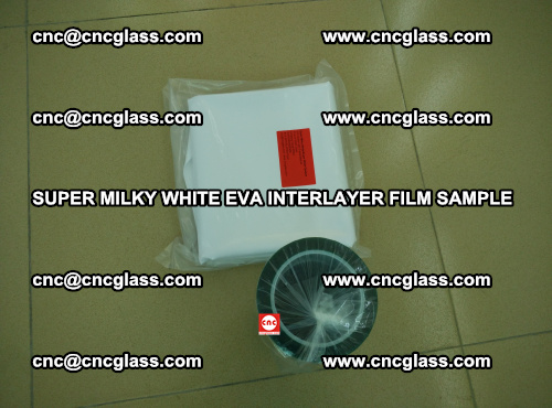 Super Milky White EVA FILM for safety glass, EVAVISION (18)